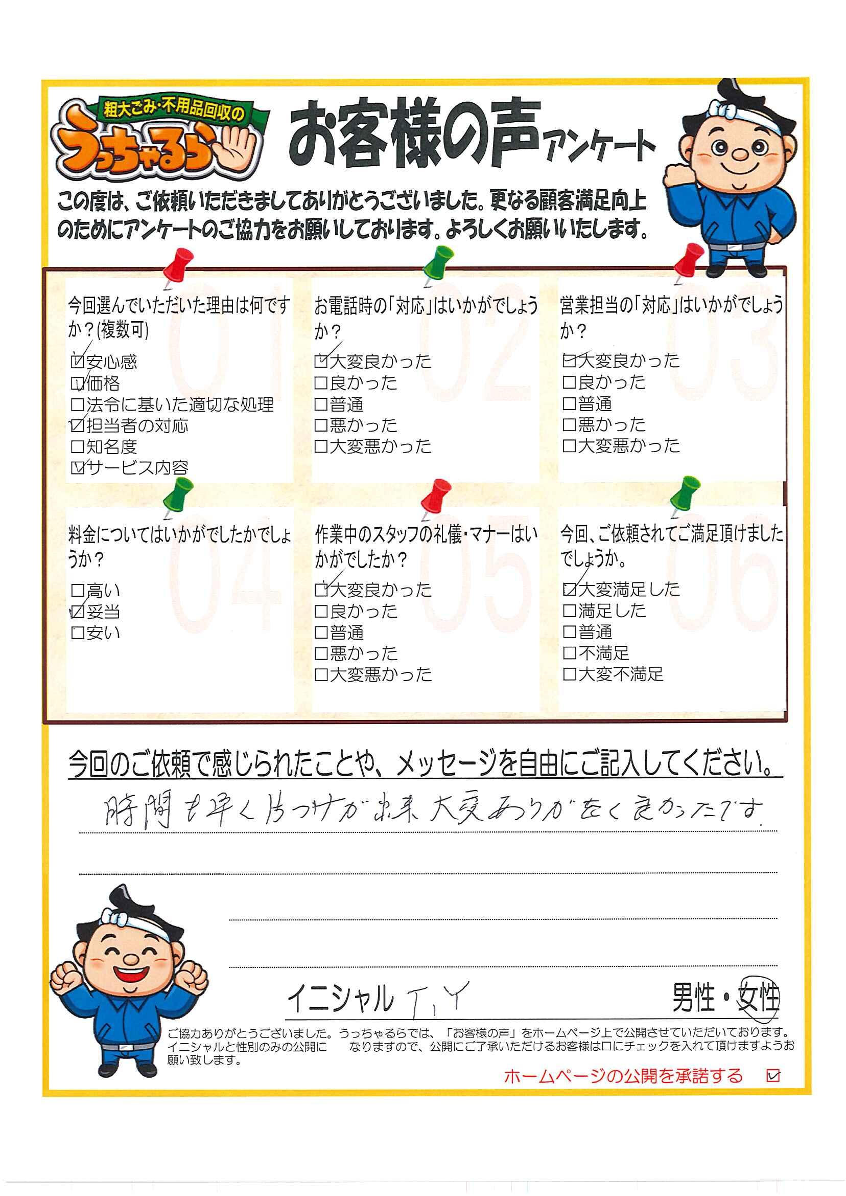 静岡市 清水区 T・M